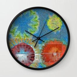 Phallisms Essence Flower  ID:16165-054217-01921 Wall Clock