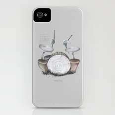Mushroom drums iPhone (4, 4s) Slim Case
