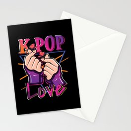 K-Pop Love Stationery Cards
