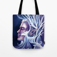 thranduil Tote Bags featuring Thranduil by MelColley