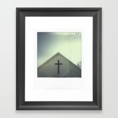 Church + Sky Framed Art Print