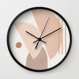 Abstract Shapes No.20 Wall Clock