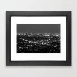 LA Lights No. 2 Framed Art Print
