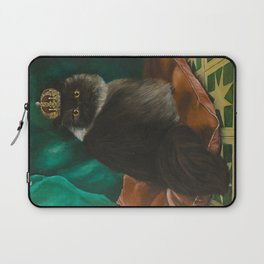 DONETE, A FANCY CHOCOLATE PERSIAN CAT Laptop Sleeve