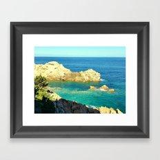 Costa Paradiso - Sardinia Framed Art Print