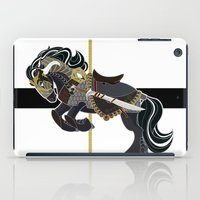 thorin iPad Cases featuring Thorin, Carousel Pony by MarieJacquelyn
