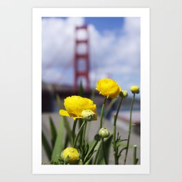 nature and architecture Art Print