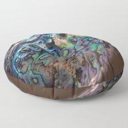 2 .paua shell Floor Pillow