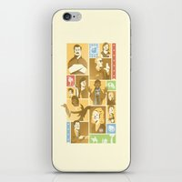 parks iPhone & iPod Skins featuring Parks & Rec by Florey
