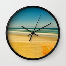 Beach & Bucket  Wall Clock