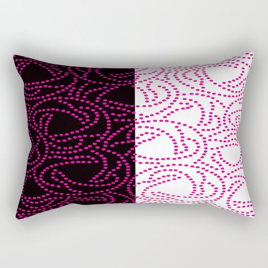 Pearls Rectangular Pillow