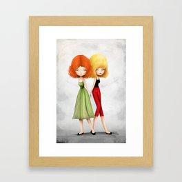 Together Alone Framed Art Print