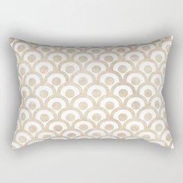 Japanese Paper Waves Rectangular Pillow