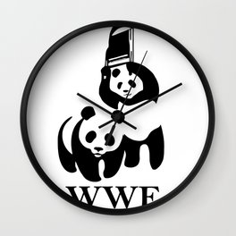 WWF Parody Wall Clock