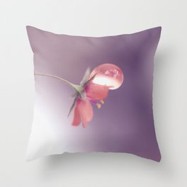 The weight of the world Throw Pillow