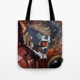 Portrait of Peter Quill (Star-Lord) Tote Bag