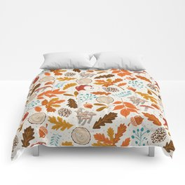 Autumn Woods Comforters