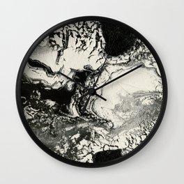awakening | fluid acrylics Wall Clock