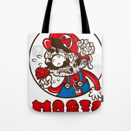 creepy mario Tote Bag