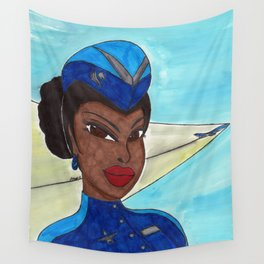 Pierce the Stratosphere with Me Wall Tapestry