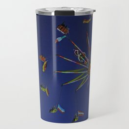 Colorful flyer | Bunter Flieger Travel Mug