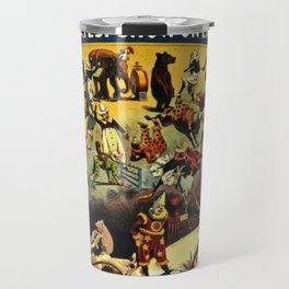 1890 Barnum and Bailey Greatest Show on Earth A Child's Dream Vintage Poster Travel Mug
