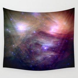 Galaxy : Pleiades Star Cluster NeBula Wall Tapestry