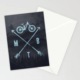 Downhill MTB Stationery Cards