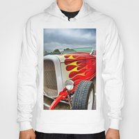 ford Hoodies featuring 32' Ford by Dave Johnson