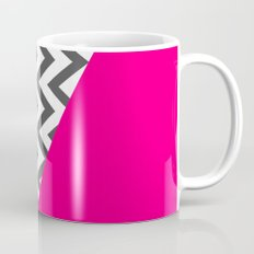 Color Blocked Chevron 8 Mug