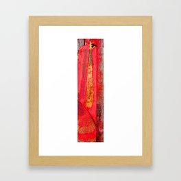 Pink I Framed Art Print