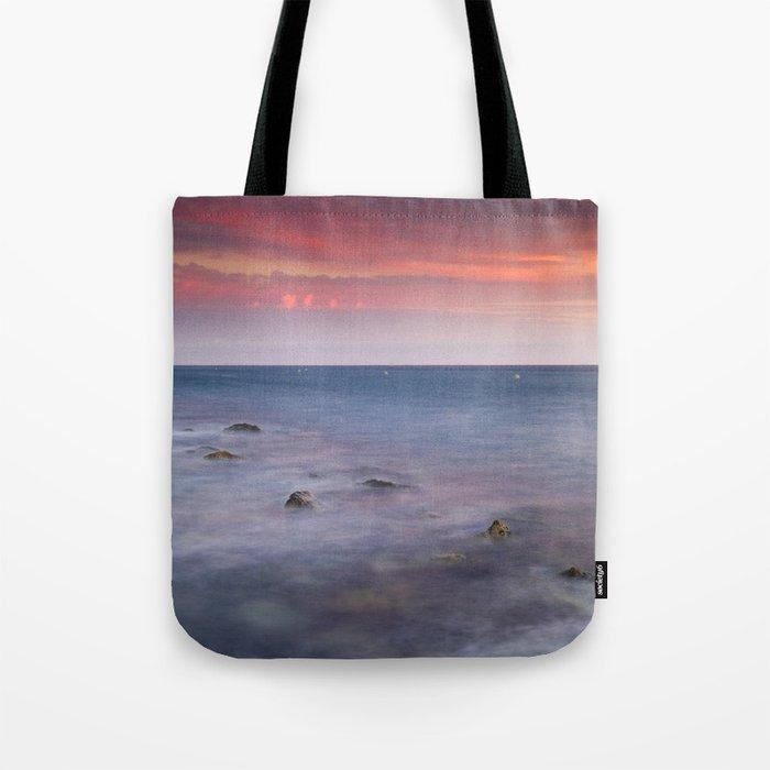 """""""Living...."""" Love the sea.... Tote Bag"""