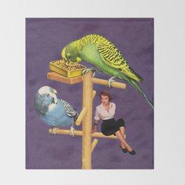 Birdie Throw Blanket