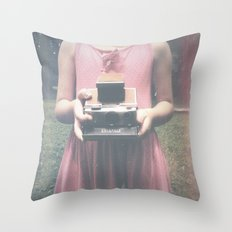 Dreams and Pictures Throw Pillow