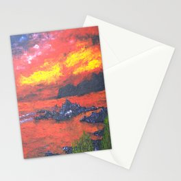 Oban Sunset Stationery Cards