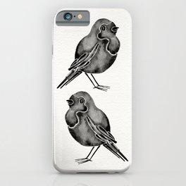 Little Blackbirds iPhone Case