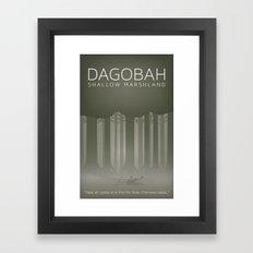 Star Wars Dagobah Framed Art Print