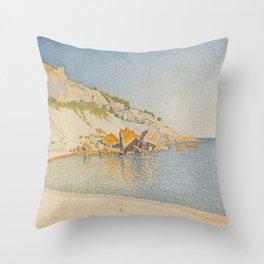 Cassis, Cap Lombard, Opus 196 Throw Pillow