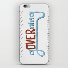 gOVERning iPhone & iPod Skin