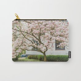 Magnolia Pink Splendor Carry-All Pouch