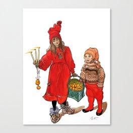 A Swedish Tale Canvas Print