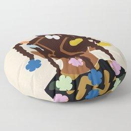 Black Girl Magic No. 2 Floor Pillow