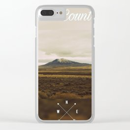 Back Country Clear iPhone Case