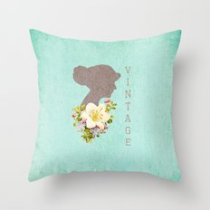 Vintage Obsessions Throw Pillow