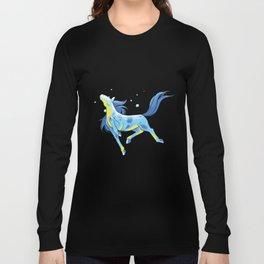 Aqua Long Sleeve T-shirt