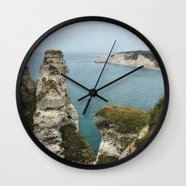 Etretat, France Wall Clock