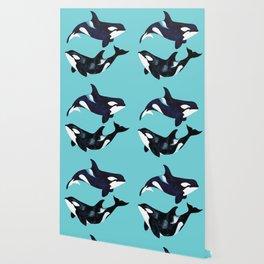 Orca Twins Wallpaper