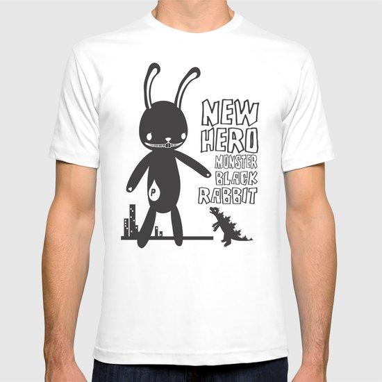 NEW HERO BLACK RABBIT MONSTER T-shirt