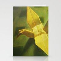 crane Stationery Cards featuring Crane by Hugo F G
