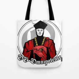 OG Omnipotence : Q - Star Trek:TNG Tote Bag